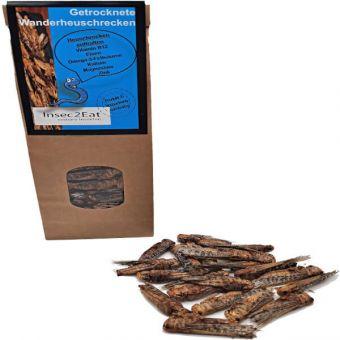 Getrocknete Wanderheuschrecken - 40g